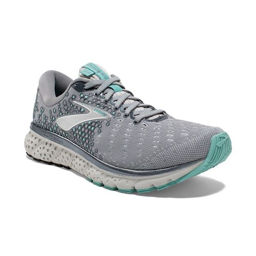 Women's Brooks Glycerin 17 (Grey/Aqua)