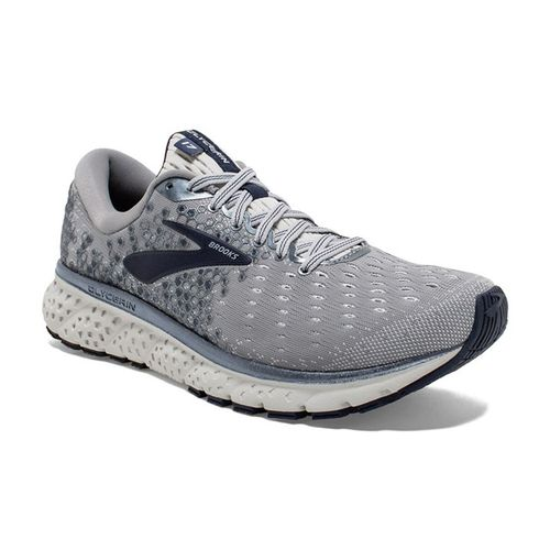 Men's Brooks Glycerin 17 (Grey/Navy)