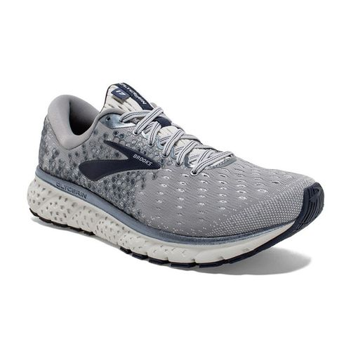 Men's Brooks Glycerin 17 Wide (Grey/Navy)
