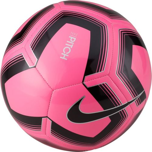 Nike Pitch Training Soccer Ball (Pink/Black)