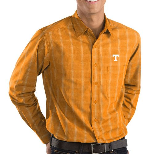 Men's Tennessee Volunteers Agent Long Sleeve Button Down Shirt (Orange)