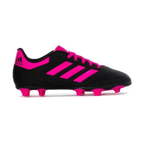 Kid's adidas Goletto VI FG J (Black/Pink)