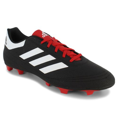 Men's adidas Goletto VI FG (Black/Red)