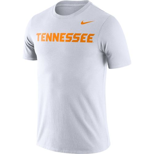 Men's Nike Tennessee Volunteers Dri-FIT Cotton Wordmark Shirt (White)