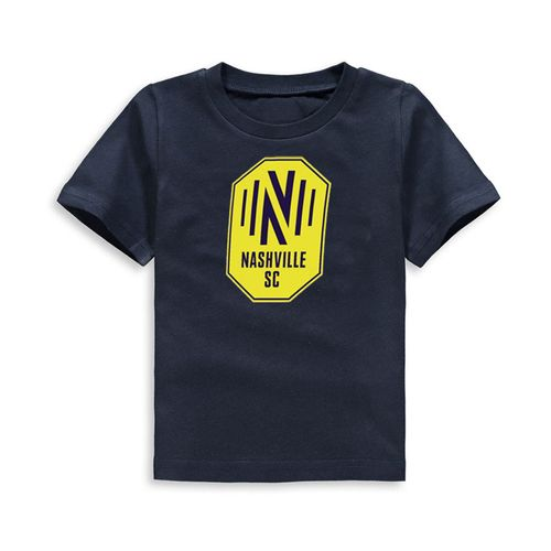 Infant Nashville Soccer Club Primary Logo Short Sleeve T-Shirt (Navy)
