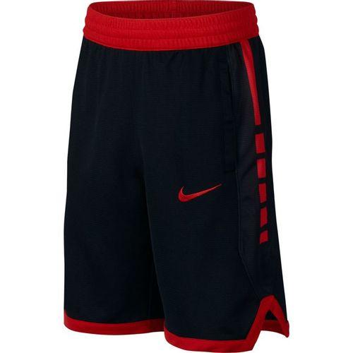 Boy's Nike Elite Dri-fit Short (Black/University Red)