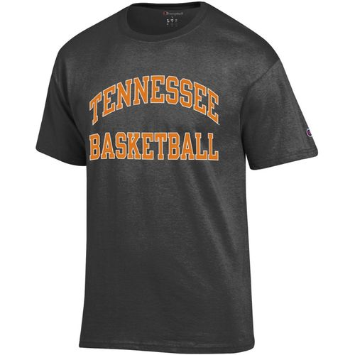 Men's Tennessee Volunteers Basketball Arch Short Sleeve T-Shirt (Granite)