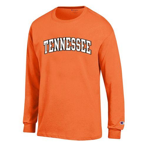 Men's Tennessee Volunteers Vertical Arch Long Sleeve Shirt (Orange)