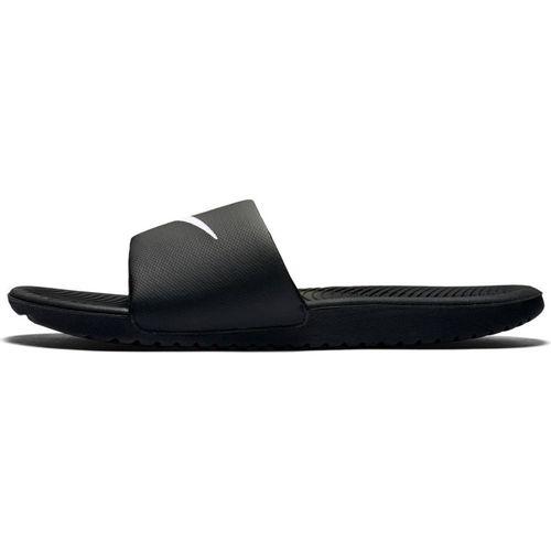 Men's Nike Kawa Slide Sandal (Black/White)