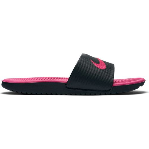 Kid's Nike Kawa Adjust Slide (Black/Vivid Pink)?