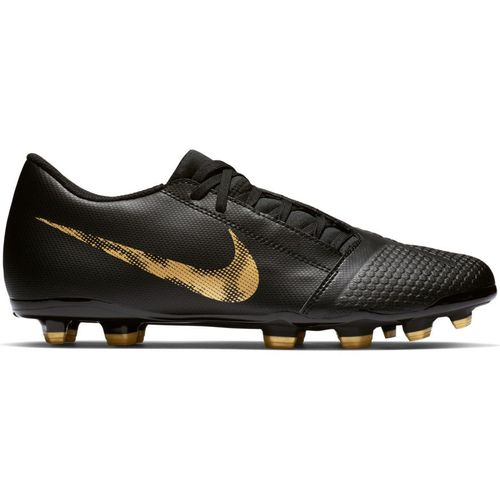 Men's Nike PhantomVNM Club  Soccer Cleat (Black/Metallic Gold)