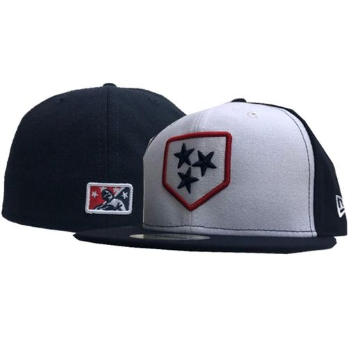 New Era Nashville Sounds Authentic Alternate Fitted Hat (Navy/White)