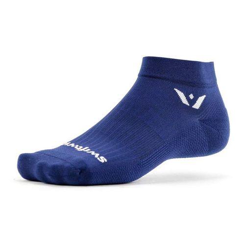 Swiftwick Aspire One Minimum Cushion Ankle Sock (Navy)