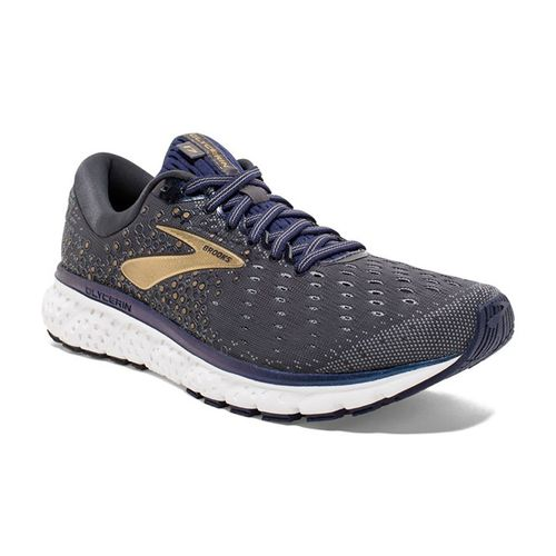 Men's Brooks Glycerin 17 (Grey/Navy/Gold)