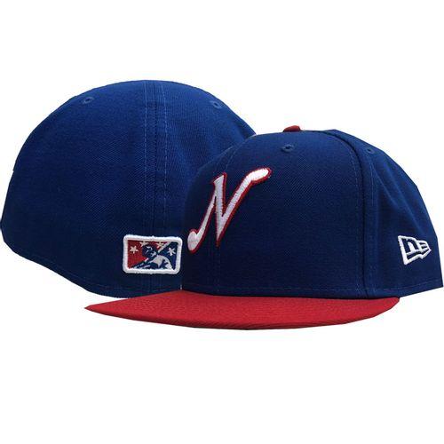 New Era Nashville Sounds Throwback 5950 Fitted Hat (Royal)