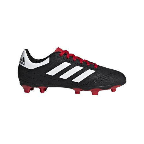 Grade School Adidas Goletto VI FG (Black/White/Red)