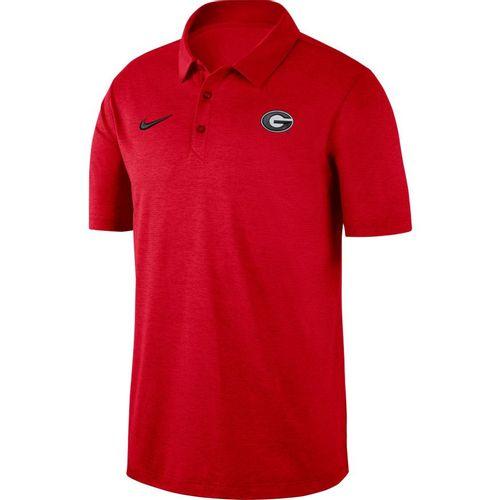 Men's Nike Georgia Bulldogs Dri-FIT Breathe Polo (Red)
