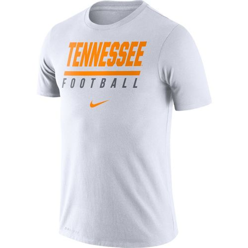 Men's Nike Tennessee Volunteers Dri-FIT Cotton Icon Wordmark Shirt (White)