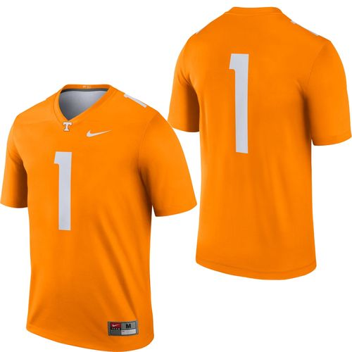 Men's Nike Tennessee Volunteers Dri-FIT Legend Football Jersey #1 (Orange)
