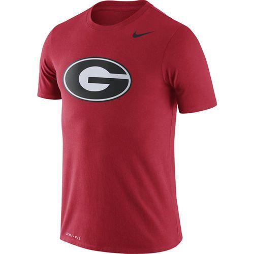 Men's Nike Georgia Bulldogs Dri-FIT Legend Logo T-Shirt (Red)