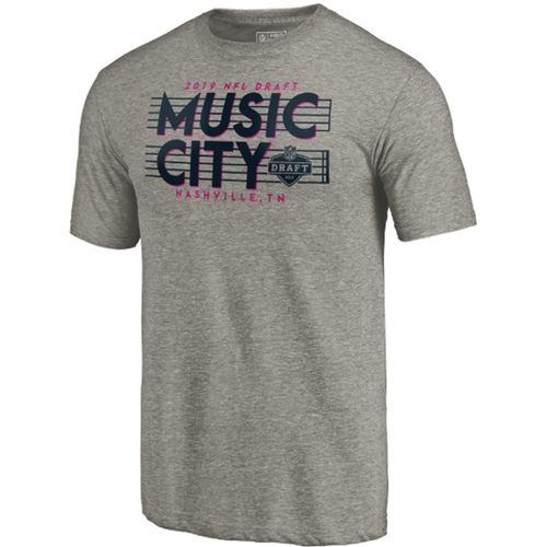 Men's Fanatics 2019 NFL Draft Music City Shirt (Charcoal)