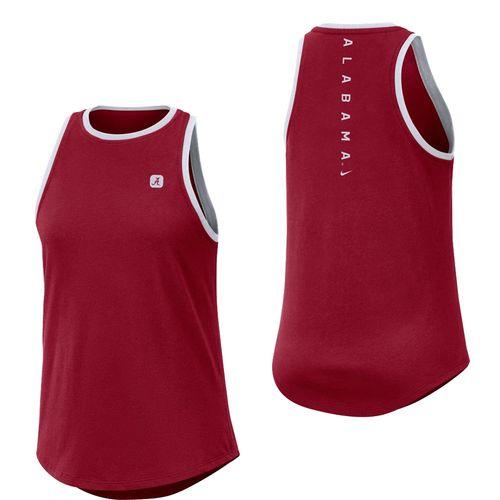 Women's Nike Alabama Crimson Tide Dri-FIT High Neck Tank Top (Crimson)
