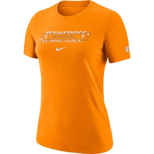 Women's Nike Tennessee Volunteers Dri-FIT Crew Short Sleeve Shirt (Orange)