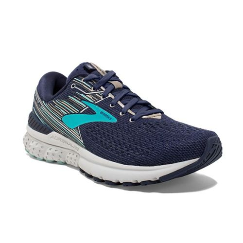 Women's Brooks Adrenaline GTS 19 (Navy/Aqua/Tan)