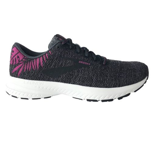 Women's Brooks Launch 6 (Blackened Pearl)