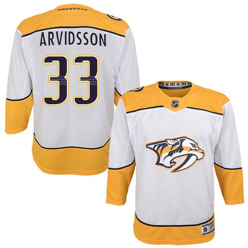 Youth Nashville Predators Viktor Arvidsson Premier Road Jersey (White)