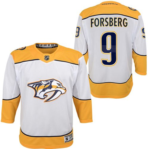 Youth Nashville Predators Filip Forsberg Premier Road Jersey (White)