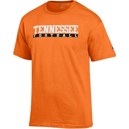 Men's Champion Tennessee Volunteers Core Football T-Shirt (Orange)
