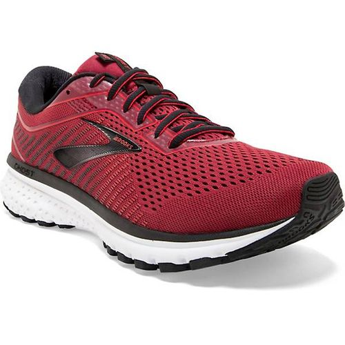 Men's Brooks Ghost 12 (Red/Black)