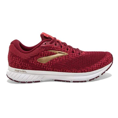 Women's Brooks Revel 3 (Red/Gold)