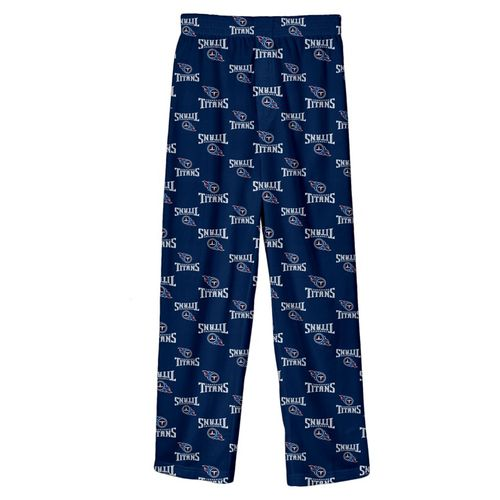 Kid's Tennessee Titans Printed Pajama Pant (Navy)