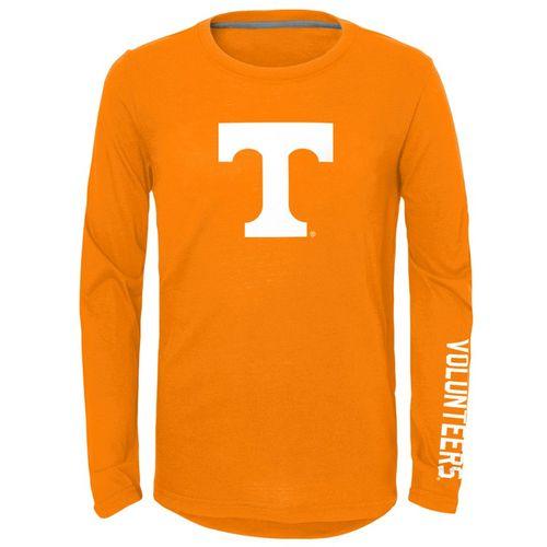Youth Tennessee Volunteers Trainer Long Sleeve Shirt (Orange)
