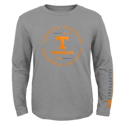 Youth Tennessee Volunteers Club Long Sleeve Shirt (Grey)