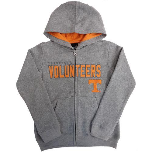 Youth Tennessee Volunteers Stated Fleece Hoodie (Grey/Orange)