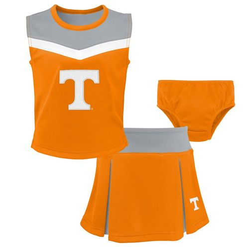 Toddler Tennessee Volunteers Spirit Cheer Set (Orange)
