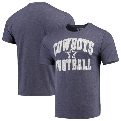 Men's Dallas Cowboys Raffin Tri-Blend T-Shirt (Navy)