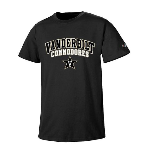 Men's Vanderbilt Commodores Field Day Short Sleeve Shirt (Black)