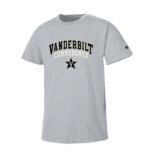 Men's Vanderbilt Commodores Field Day Short Sleeve Shirt (Oxford Grey)
