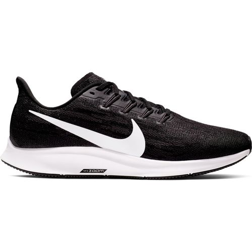 Men's Nike Air Zoom Pegasus 36 Wide (Black/White)