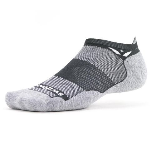 Swiftwick Maxus Zero Tab Sock (Grey)