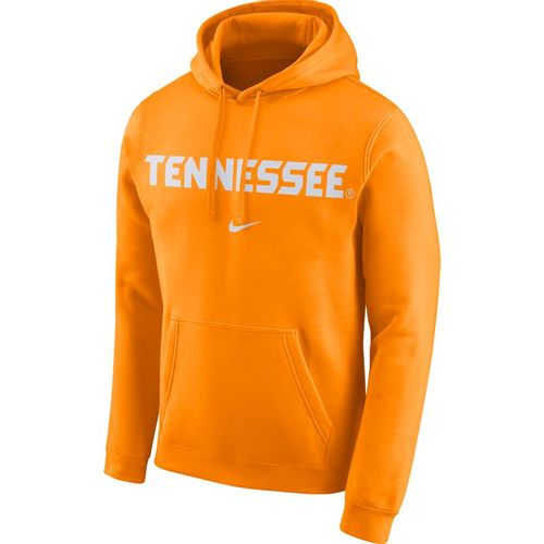 Men's Nike Tennessee Volunteers Wordmark Club Hoodie (Orange)
