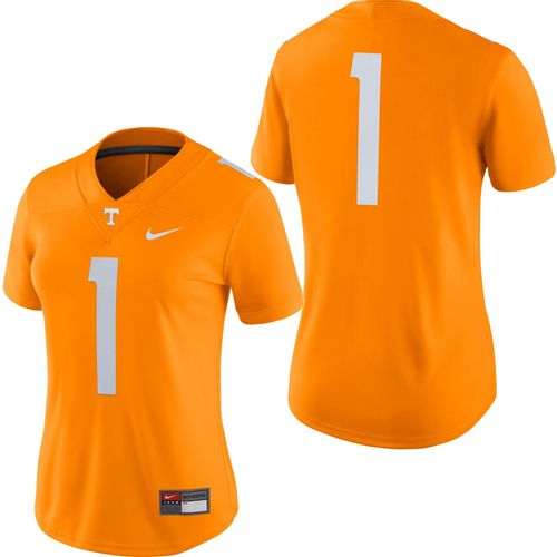 Women's Nike Tennessee Volunteers Dri-FIT Home Game Football Jersey #1 (Orange)