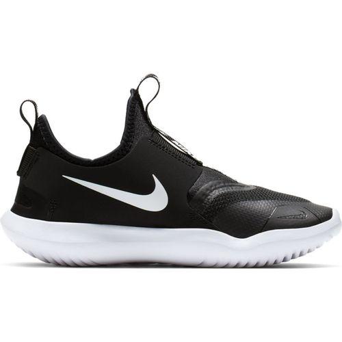 Pre School Nike Flex Runner (Black/White)