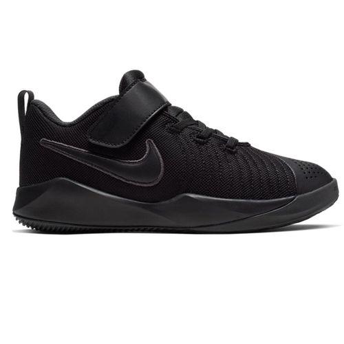 Pre School Nike Team Hustle Quick 2 (Black/Black)
