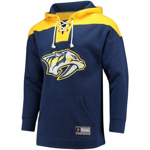 Men's Fanatics Nashville Predators Franchise Lace-Up Shirt (Navy)
