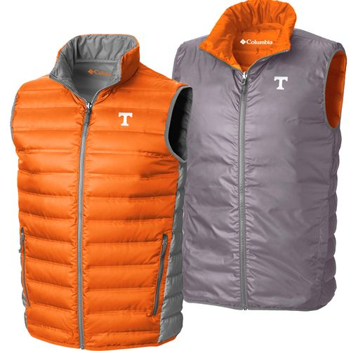 Men's Columbia Tennessee Volunteers Lake 22 Vest (Orange)